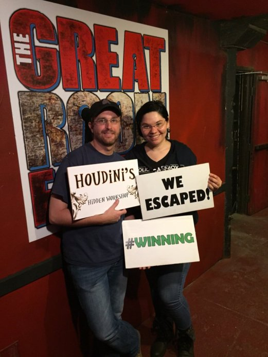 ESCAPE ROOMS -Great Room Escape San Diego: Houdini – California ...