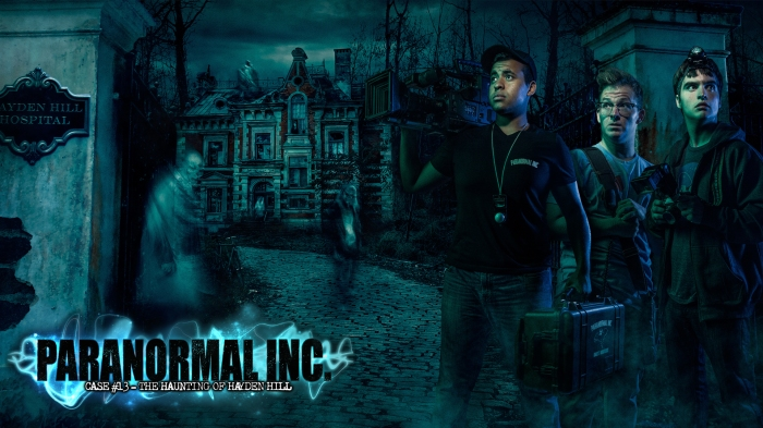 Paranormal Inc Maze - Hero with Logo Slide