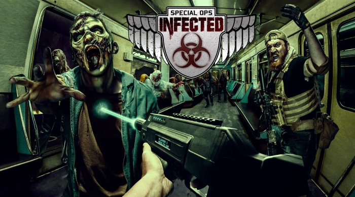 Special Ops Infected Hero Image with logo
